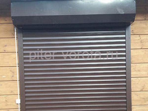 Гаражные подъёмно-секционные ворота в Репино