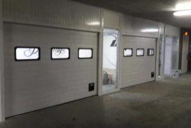 Ворота промышленные подъёмно-секционные DoorHan ISD01 на ст.м. Водолей, фото 2