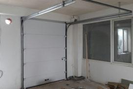 Ворота промышленные подъёмно-секционные DoorHan на ст. м. Парнас, фото 2
