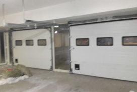 Ворота промышленные подъёмно-секционные DoorHan ISD01 на ст.м. Водолей, фото 3