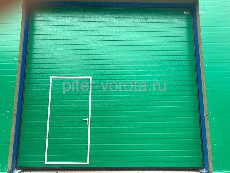 Промышленные подъёмно-секционные ворота Alutech ProTrend в Советске