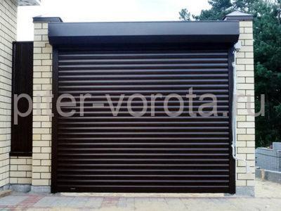 Роллетные ворота DoorHan 2000x2000 мм