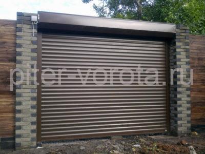 Роллетные ворота DoorHan 2750x2250 мм
