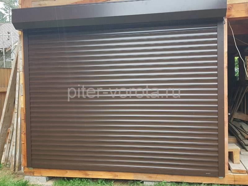 Гаражные подъёмно-секционные ворота Doorhan RSD01 в Турышкино