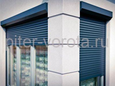 Рольставни на окна RH45N, 1500 x 2000 мм