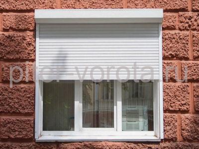 Рольставни на окна RH45N, 900 x 2100 мм