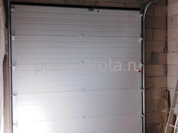 Гаражные подъёмно-секционные ворота DoorHan RSD02 в Лапухинке