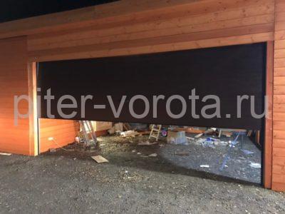 Гаражные подъёмно-секционные ворота DoorHan RSD02 в Приозерске, фото 1