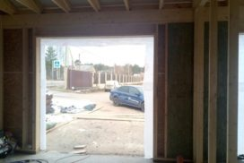 Гаражные подъёмно-секционные ворота Alutech Classic в Стрельцово, фото 4
